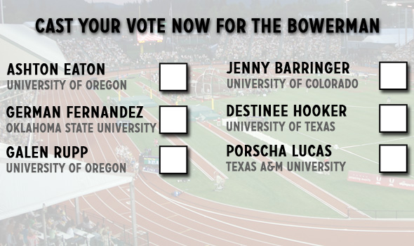 Bowerman Fan Voting Ends Friday, November 21st
