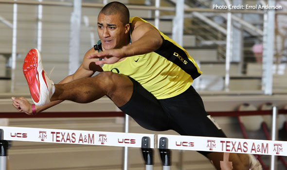 Oregon's Ashton Eaton Claims Collegiate Record in the Heptathlon