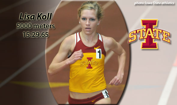 Iowa State's Lisa Koll Runs 15:29.65 at Classic