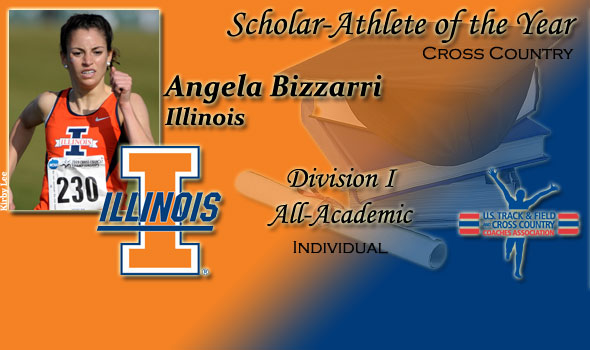 Illinois' Angela Bizzarri is Division I XC Women's Scholar-Athlete of the Year