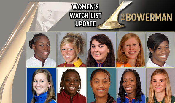 Lisa Koll, Phoebe Wright Added to The Bowerman Watch List for First Time