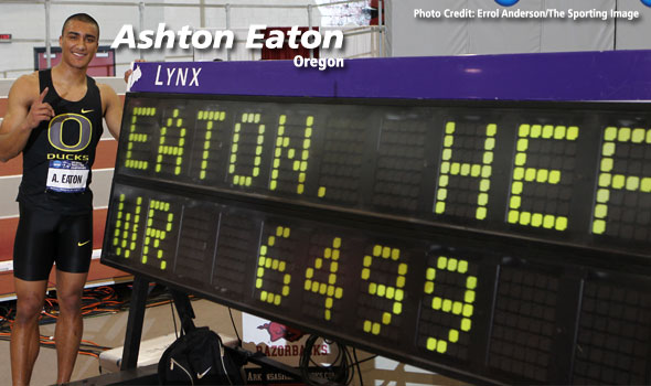 Eaton Claims New World Record in the Heptathlon