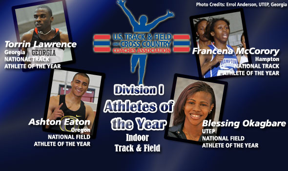 Lawrence, Eaton, McCorory, and Okagbare Claim National Athlete of the Year Honors