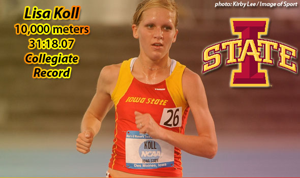 Iowa State's Koll Sets New Collegiate 10k Standard