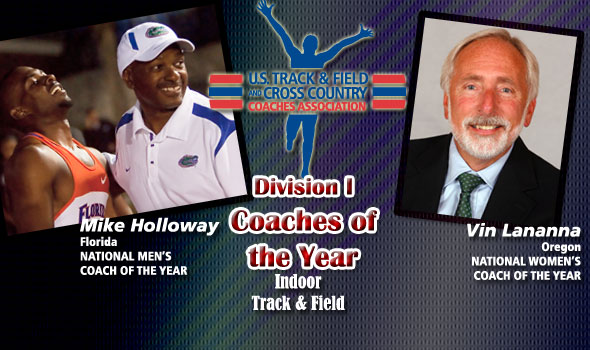 Holloway, Lananna Honored as National Coaches of the Year