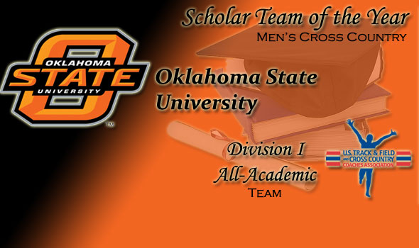 Oklahoma State Declared as Division I Men's Cross Country Scholar Team of the Year