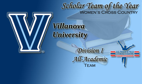 Villanova Named Division I Women's Cross Country Scholar Team of the Year