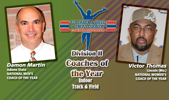 National Coaches of the Year in Division II are Martin, Thomas