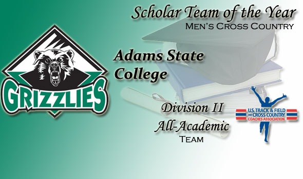 Adams State is Division II Scholar Team of the Year in Men's Cross Country