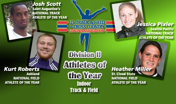 Scott, Roberts, Pixler, Miller Are Athletes of the Year in Division II