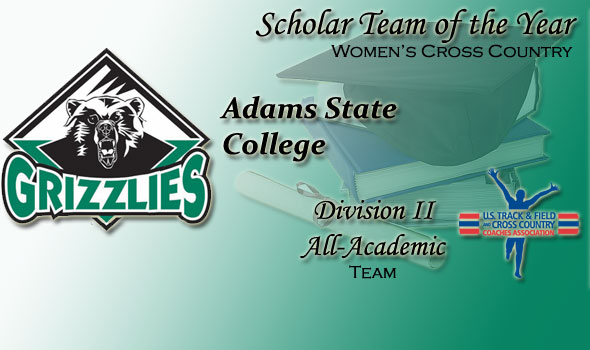 Division II Scholar Team of the Year in Women's Cross Country is Also Adams State