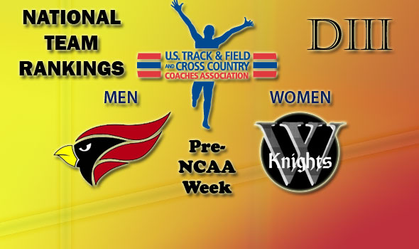 New No. 1 North Central (Ill.) Men To Take Meet-High 12 Entries to NCAA DIII Championships, Wartburg Women Hold Top Spot