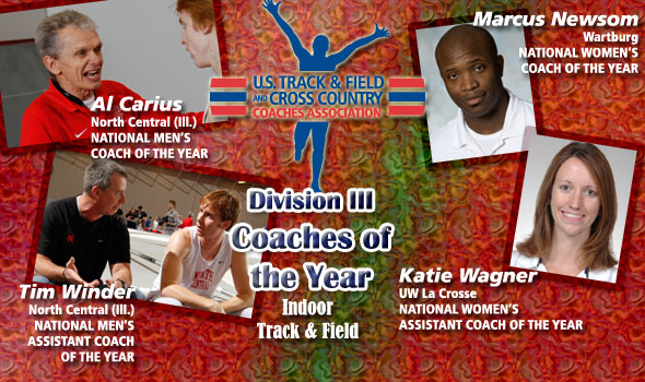 USTFCCCA Announces Division III Coaches and Assistant Coaches of the Year