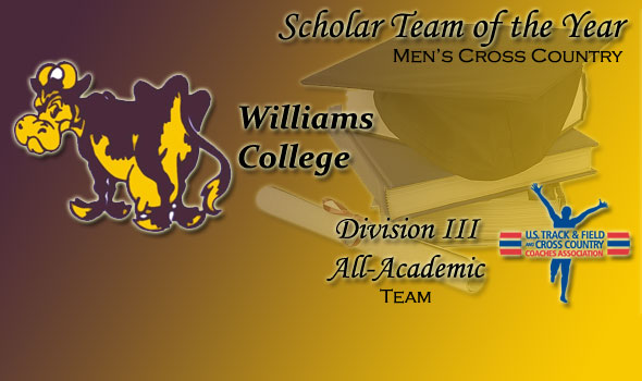 Williams College Named USTFCCCA Division III Men's XC Scholar Team of the Year