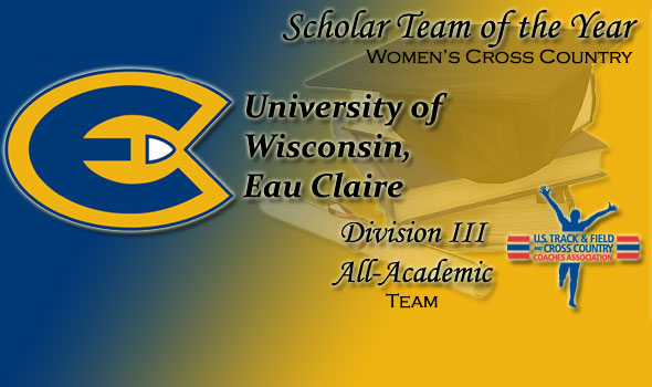 University of Wisconsin, Eau Claire Named USTFCCCA Division III Women's XC Scholar Team of the Year