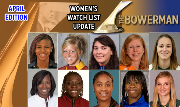 Kaufman, Mayo Promoted to The Bowerman Women's Watch List
