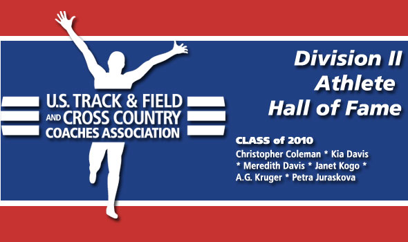 Olympians Kruger, Kia Davis Highlight New Additions to Division II Athlete Hall of Fame