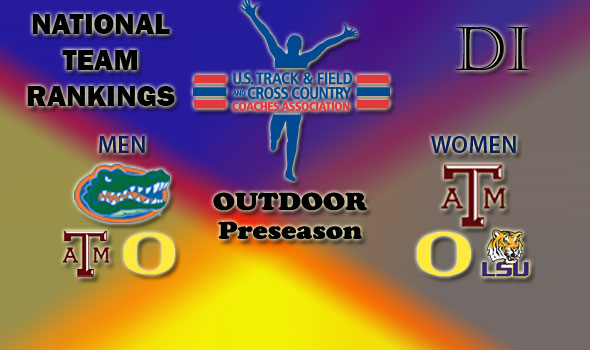 Florida Men, Texas A&M Women Are Tops of the Preseason National Team Rankings
