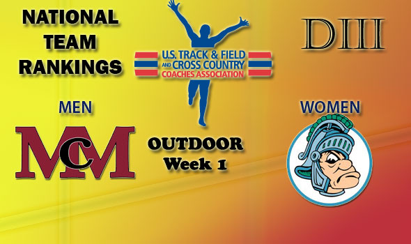 McMurry, Illinois Wesleyan Lead-Off Outdoor Season in Division III On Top