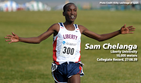 Chelanga Leaves No Doubt With 27:08 Collegiate 10k Record