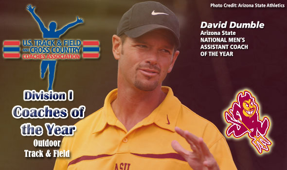 Dumble Named National Men's Assistant Coach of the Year