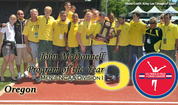 Men of Oregon Claim John McDonnell Program of the Year Honors For Second Time