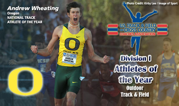 "Wheating ""Kicks"" His Way to National Male Track Athlete of the Year Honors"