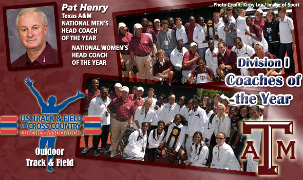 Texas A&M's Henry Sweeps National Head Coach of the Year Awards
