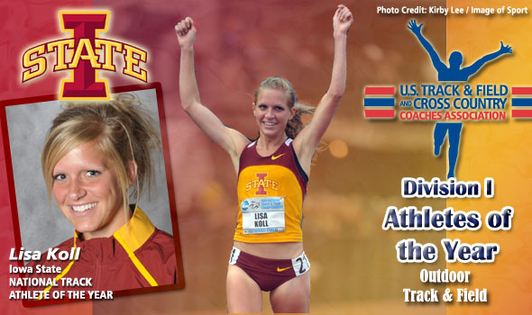 Koll's Distance Domination Earns High Praise, National Female Track Athlete of the Year Honors