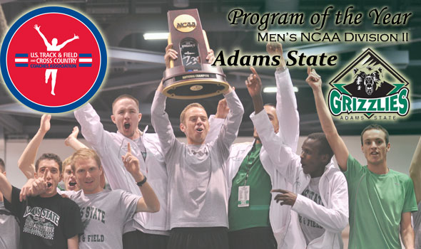 Adams State Wins Division II Men's Program of the Year Title For Second Time