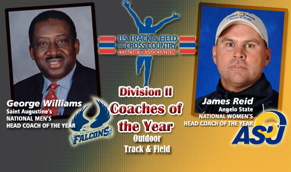National-Championship Winning Coaches Williams, Reid are D-II Coaches of the Year