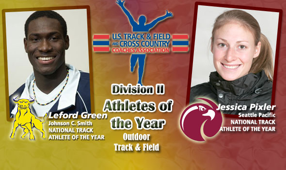 Green and Pixler Cap Successful Year as Division II Track Athletes of the Year