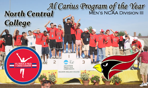 North Central College Wins Triple Crown, Al Carius Program of the Year Award