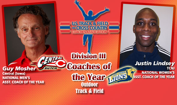 Mosher, Lindsey Tabbed as National Assistant Coaches of the Year in D-III