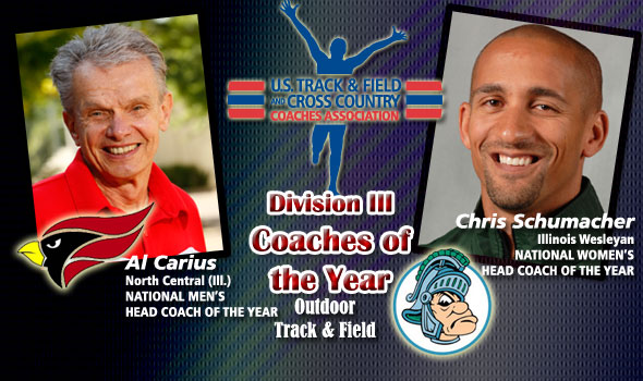 Carius, Schumacher Honored as D-III National Coaches of the Year