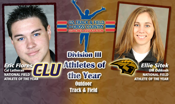 Throwers Flores, Sitek Claim Division III Field Athlete of the Year Honors