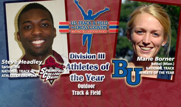 Headley, Borner are Division III's National Track Athletes of the Year