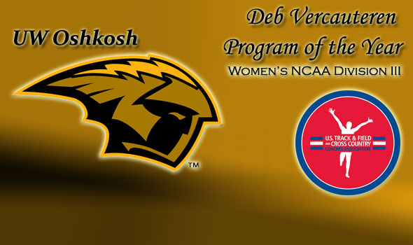 UW Oshkosh Claims Deb Vercauteren Program of the Year Honors in Division III