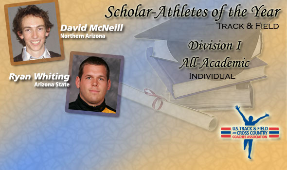 McNeill, Whiting Add More Honors with Scholar Athlete of the Year Awards