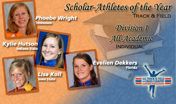 Wright, Hutson, Koll, Dekkers Are Scholar Athletes of the Year in D-I