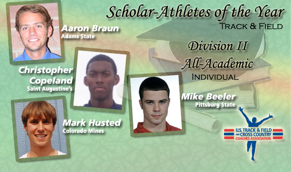 Division II's Scholar Athletes of the Year Are Braun, Copeland, Husted, Beeler