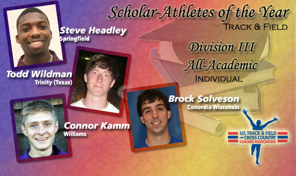 Men's Scholar Athletes of the Year and All-Academic Nods Announced in Division III