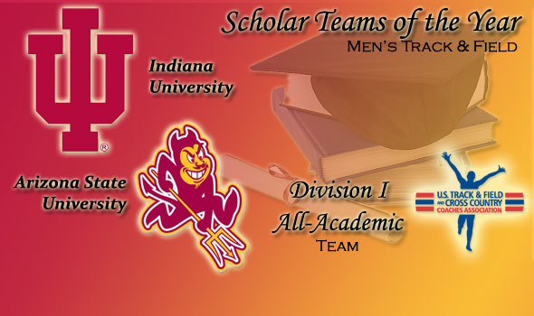 Indiana, Arizona State Men Earn Scholar Team of the Year Honors in Division I