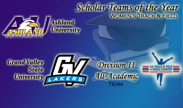Ashland, Grand Valley State Women Are Division II's Scholar Teams of the Year