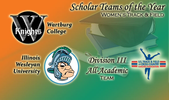 National Champs Wartburg, Illinois Wesleyan Earn Achieve Scholar Team of the Year Status in D-III