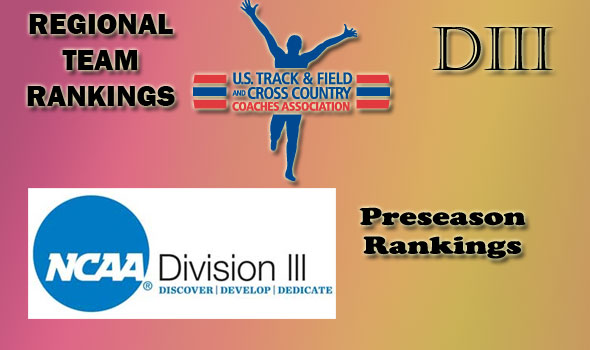Regional Cross Country Preseason Rankings in Division III Unveiled