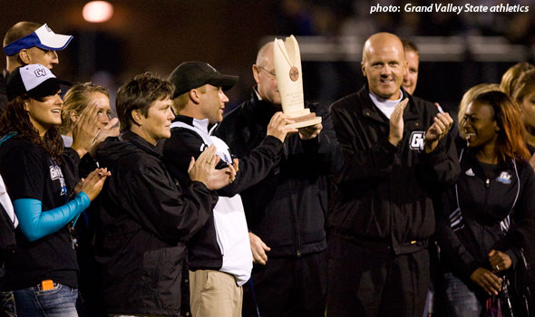 Grand Valley State Presented With 2009-10 Division II Program of the Year Award