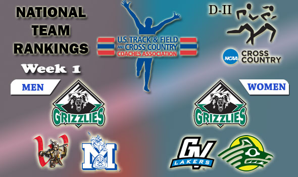 First Regular-Season National Rankings Released in Division II