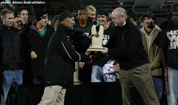 Adams State Presented with USTFCCCA Division II Men's Program of the Year Awards