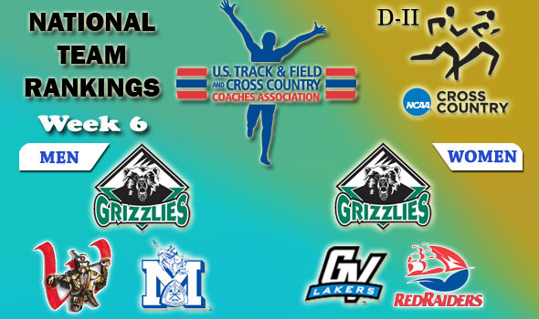 D-II National Cross Country Rankings: Week 6, October 27